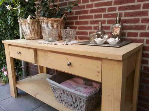Sidetables voor al uw wensen in hout for Sidetable steigerhout