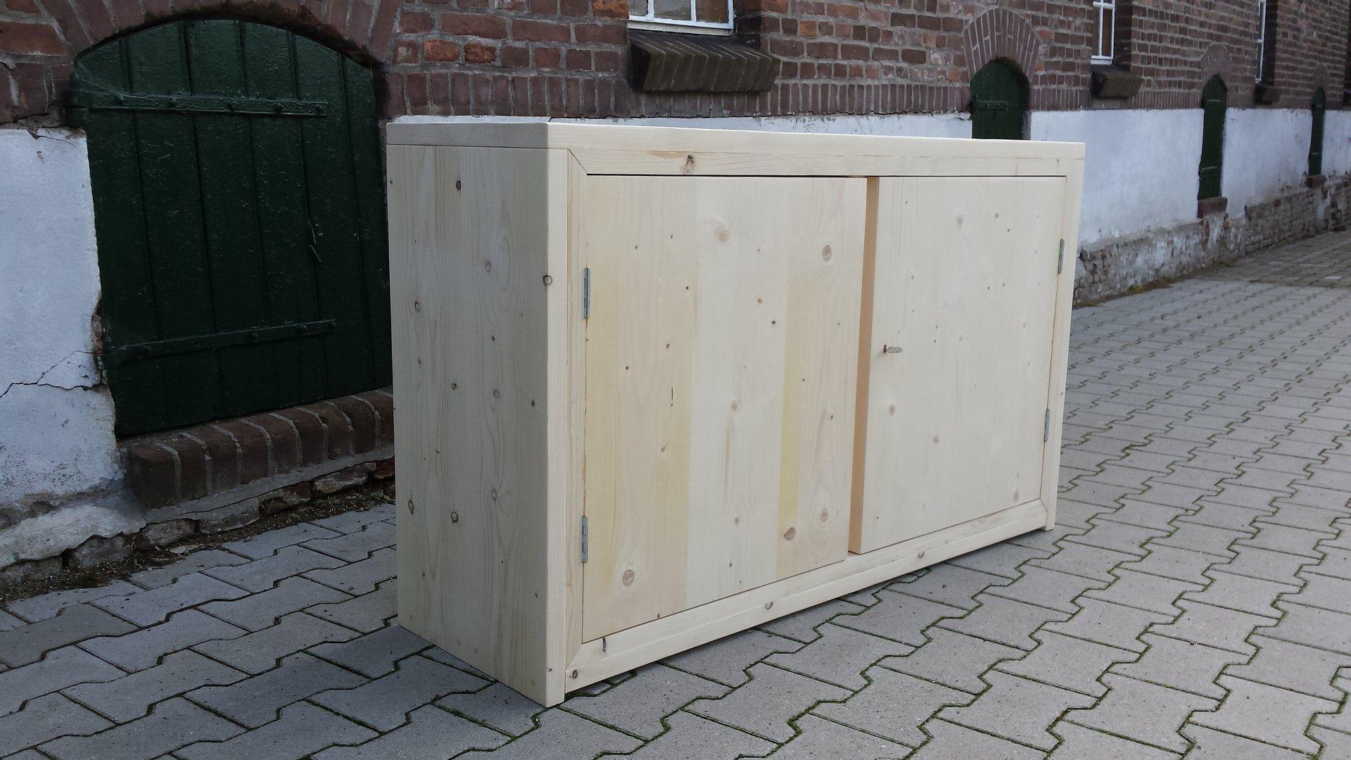 Dressoir met 2 deuren   Steigerhout, steigerhouten meubels, steigerhout Arnhem, Brunssum
